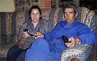 Manuel Vicgo y Dolores. Foto: David Vigario.